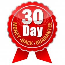 30 Day Money Back Guaranatee